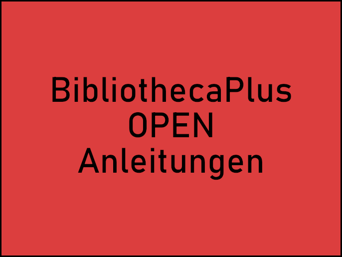 Bibliotheca Plus/OPEN